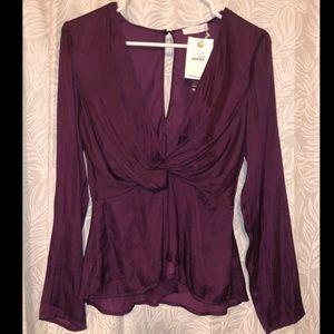 Lush maroon blouse